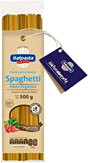 Italpasta Spaghetti Pasta Orgánica con Vegetales, 500 g