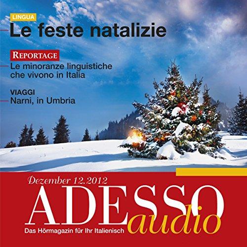 ADESSO Audio - Le feste natalizie. 12/2012 audiobook cover art