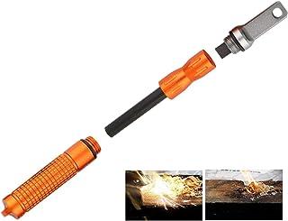 Outdoor Survival Magnesium Flint and Steel Striker Fire Starter Lighter Stick