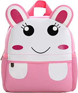 WSLCN Toddler Kids Mini Backpack Cute Animal Schoolbags Preschool Bag (rabbit)