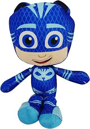 PJ Masks Gekko, Catboy o Owlette Pijama Cuernos 22cm Coleccionable Juguete de colección, Juego y caricias (Catboy)