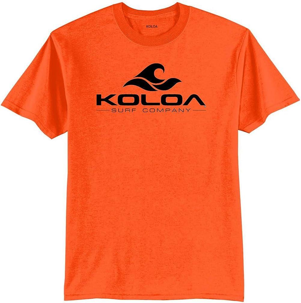 Koloa Surf Co. Wave Logo 50/50 Cotton Poly Blend T-Shirts X-Large Tall -XLT