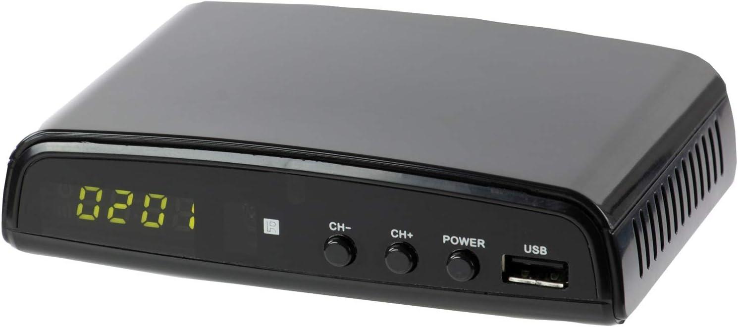 QFX CV-103 Digital Converter Box W Ul Adapter, Black (B00WN5ZDVQ)