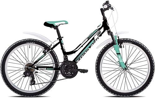 compras de moda online TORPADO - Bicicleta de Montaña Infantil Candy de de de 24 Pulgadas, 3 x 6 V, Color verde  Ahorre 35% - 70% de descuento