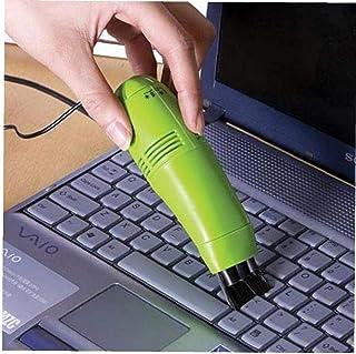 TOSSPER 1pc Clavier d'ordinateur Mini Aspirateur Pratique It New Mini Portable USB Nettoyage PC de Bureau Accessoires pour...