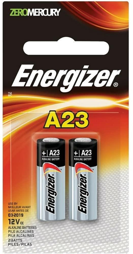 Energizer Zero Mercury Alkaline Batteries pack OFFicial store 2 A23 ea Special Campaign