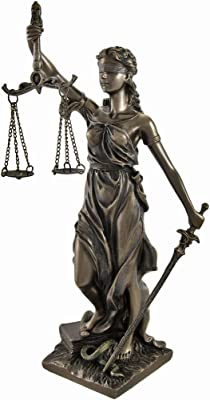 Amazon Com Lady Justice Statue With Free Engraving Home