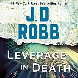 Leverage in Death audiobook cover art
