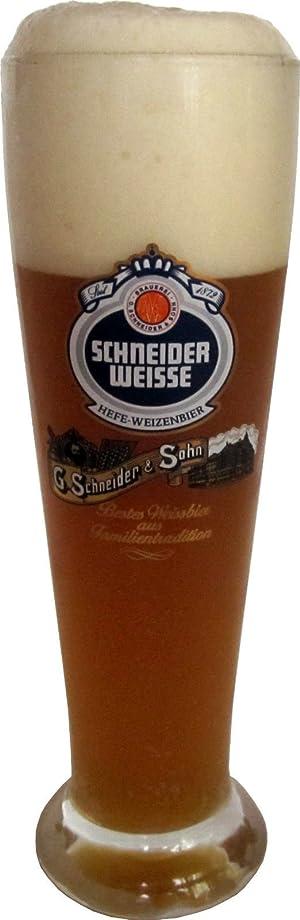 永遠に記念碑民間Schneider Weisseドイツビールガラス0.3l?–?2のセット