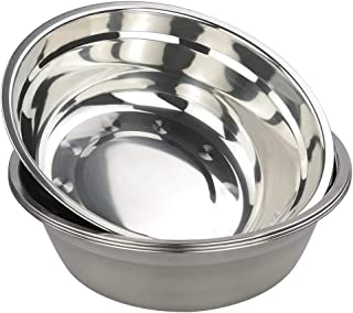 Idomy 4-Pack Stainless Steel Mixing Bowls, Dinner Prep Bowls Set
