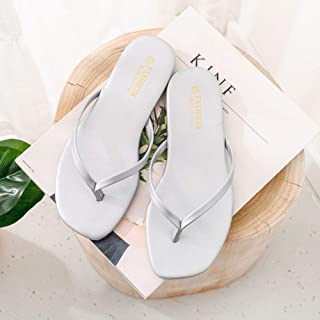 Summer Slippers For Women Fashion Casual Solid Floral Slippers Sandals Flat Shoes Beach Slippers Women + Shoes