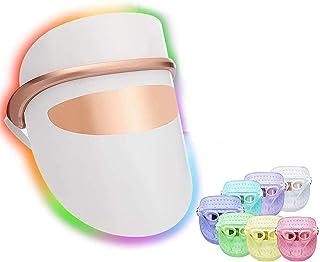 Gezichtsmasker Lichttherapie, 3 Led Light Facial Huidverzorgingsmasker, Voor Een Gezonde Huidverjongingstherapie