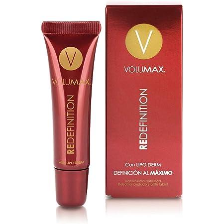 VOLUMAX REDEFINITION - Bálsamo Labial Antiedad, Redensificante y Antiarrugas Mujer | Define, Hidrata y Perfila | Labios Suaves y Carnosos | Vitamina E ...