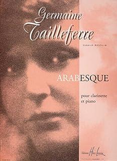 Arabesque (clarinet and piano)