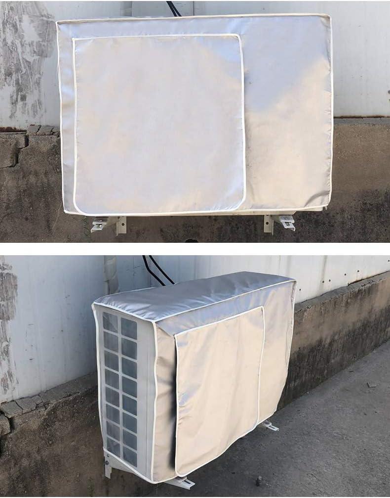 Couverture pour fen/être climatiseur /écran anti-poussi/ère /étanche tissu argent taille: 94x40x73cm