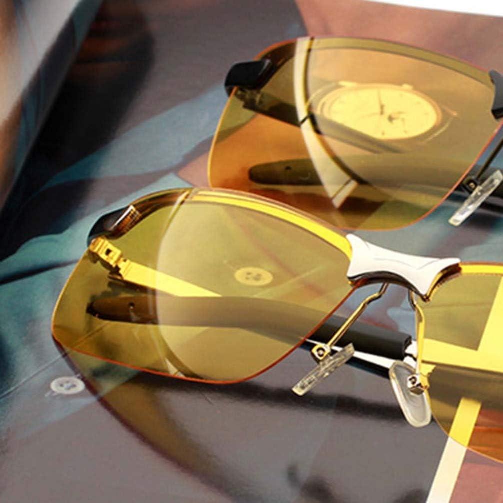 Wakauto HD Night Driving Glasses Anti-glare HD Polarized Night Vision Glasses for Night Safety
