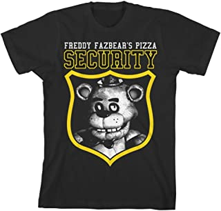Five Nights at Freddy's Security Guard Boys T-shirt