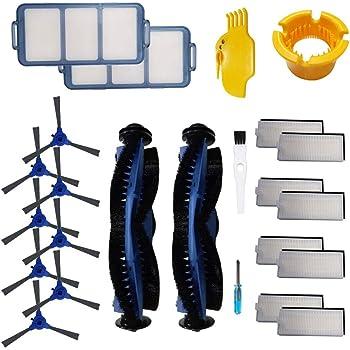 Kit de accesorios de repuesto para Eufy RoboVac 11S, RoboVac 30C, RoboVac 15C, RoboVac 30, RoboVac 35C, RoboVac 12 Accesorio, filtros de aspiradora robótica, cepillos laterales, cepillo rodante: Amazon.es: Hogar