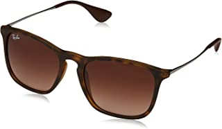 Ray-Ban Women's RB4175 Oversized Clubmaster Sunglasses