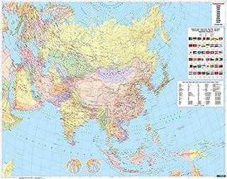 Asia politica 1:9.000.000 (Asia Oceania mappe stradali turistiche)