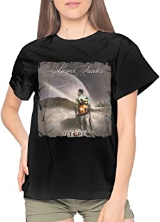 Women's T Shirts Cool Tees for Womans Short Sleeve Woman Black Tops