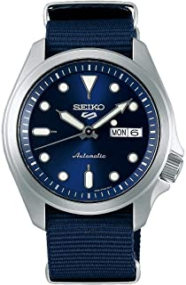 Seiko Sport 5 Facelift Automatic Nylon Strap blue Watch SRPE63K1