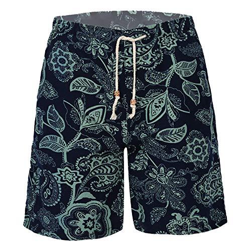 iiniim Pantalones Cortos Deportivos Ropa de Playa Shorts de Deportes Pantalones Cortos Deportivo Tipo C 2XL