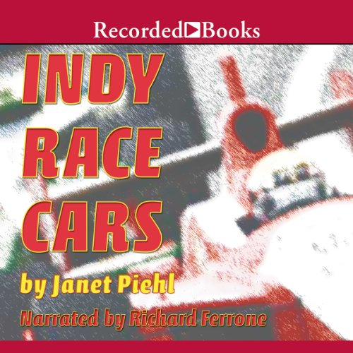 Indy Race Cars audiobook cover art