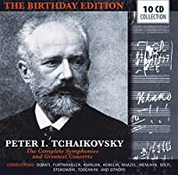 Peter Tchaikovsky: The Complete Symphonies and Greatest Concerts by Mstislaw Rostropowitsch