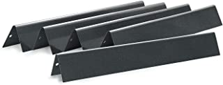 Antree Gas Grill Replacement Porcelain Steel Flavorizer Bars/Heat Plate/Heat Shield 7534 for Weber Models Grills Set of 5, 21.5 x 1.7 x 1.7