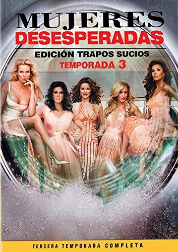 Mujeres Desesperadas: Temporada Tercera (Edicion Trapos Sucios) [Italia] [DVD]
