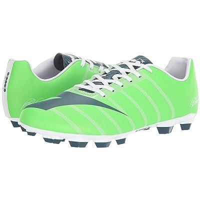 Diadora RB2003 R LPU (Green Fluo/Atlantic) Soccer Shoes