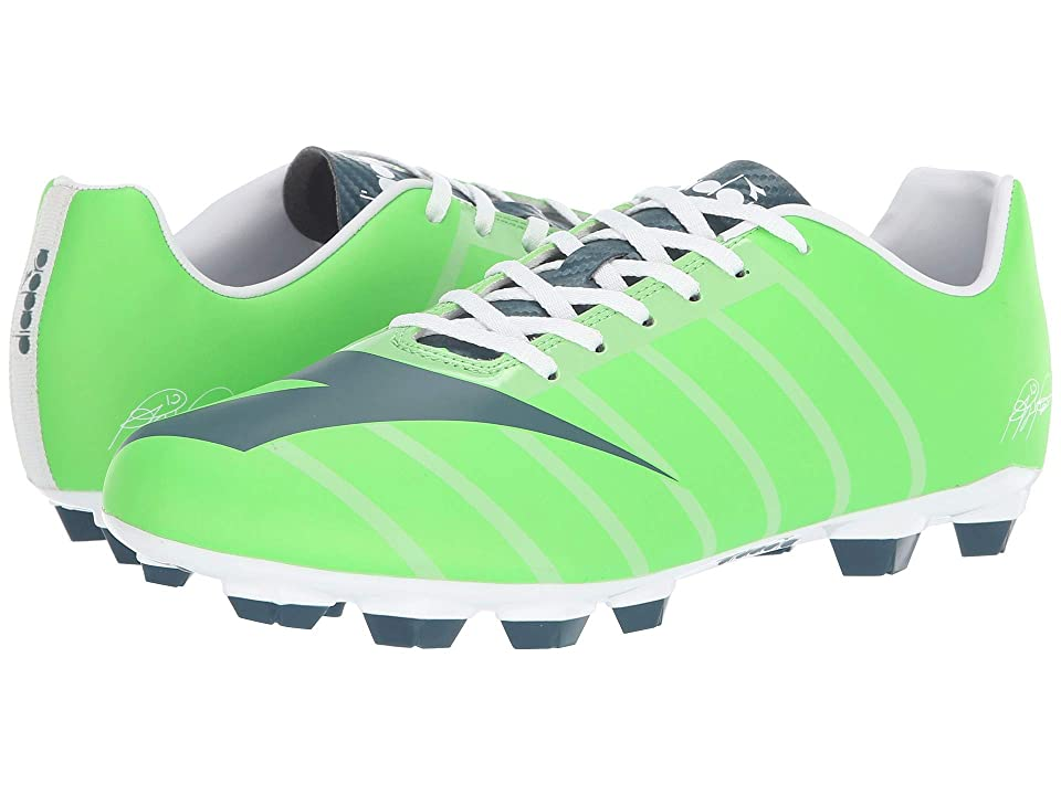 Diadora RB2003 R LPU (Green Fluo/Atlantic) Soccer Shoes
