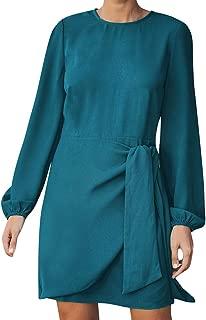 AOJIAN Dress for Women Gown Dashiki Under Dresses Stylish Bow Solid Underskirt Petticoat Skirts