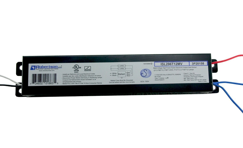 fluorescent light ballast amazon com Advance Ballast Wiring Diagram