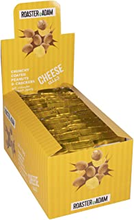 Roaster Adam Crunchy Coated Peanuts And Crackers, Cheese Flavor, 24 x 13 gm