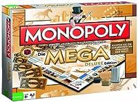 Monopoly Mega Deluxe - Das Brettspiel bei dem Sie die teuersten und luxuriösesten Straßen der Welt kaufen! (Deutsch)