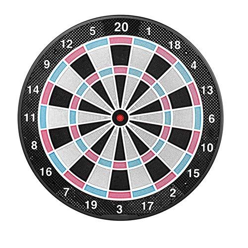 TWW Soft Home Große Dartscheibe Kinder Erwachsene Home Dartscheibe Dartscheibe Interaktive Spielschießstunde Unterhaltung Spiel Darts