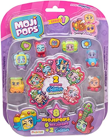 MojiPops Glitter Surprise Serie 1 - Figuras coleccionables Magic Box