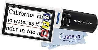 Eschenbach Mobilux Digital Touch HD - Portable Handheld Color Video Magnifier (4.3