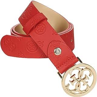 ILENIA Adjustable Pant Belt Complementos y Accesorios Moda Femmes Rojo - EU M - Cinturones