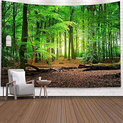 WERT 3D psychédélique forêt Tapisserie Conte de fées Jardin Hippie tenture Murale Salon décoration Tapisserie Fond Tissu A5 180x200 cm