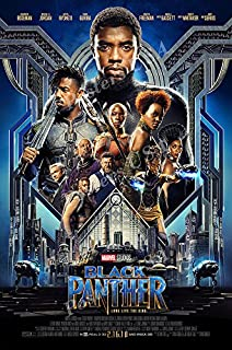 Posters USA - Marvel Black Panther Movie Poster GLOSSY FINISH - FIL688 (24