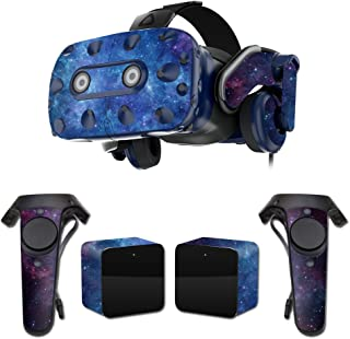 MightySkins Skin Compatible with HTC Vive Pro VR Headset - Nebula   Protective, Durable, and Unique Vinyl Decal wrap Cover   Easy to Apply, Remove, and Change Styles   Made in The USA