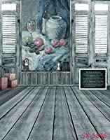 ウェディング木製床部屋写真の背景幕Painting壁背景Props for Photo Studio