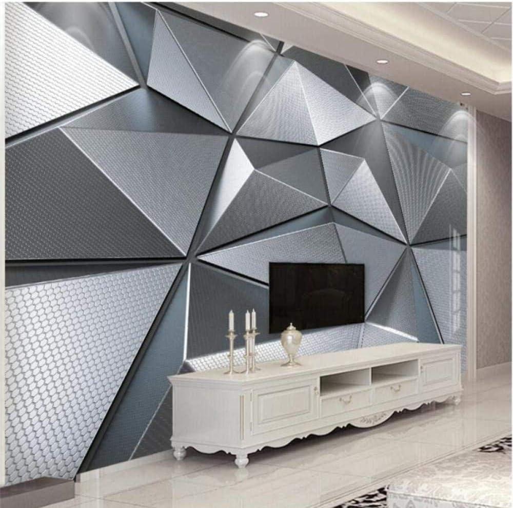 Wallpaper Custom セール品 Living Room 送料無料激安祭 Bedroom 3D Mural Geometri