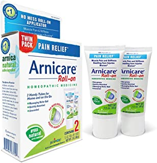 Boiron Arnicare Roll-on Twin Pack Homeopathic Medicine for Pain Relief, 1.5 Ounce (Pack of 2)