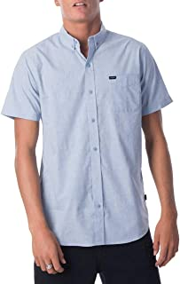 Rip Curl Men's Standby S/S Shirt, Blue Ice