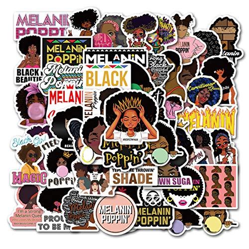Struggle Stickers Melanin Poppin St…