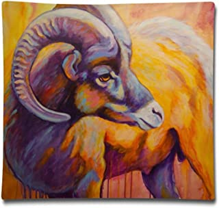 Kjaoi 1818 Inches Pillow Case Tibetan Antelope Comfortable Soft Bed Pillow Case Household Pillow Case Office Bolster